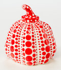Post-War & Contemporary:Sculpture, Yayoi Kusama (b. 1929). Pumpkin (Red), 2013. Painted castresin. 4 x 3-1/4 x 3-1/4 inches (10.2 x 8.3 x 8.3 cm). Stamped...