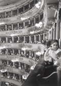 Photographs, Alfred Eisenstaedt (American, 1898-1995). Premier at La Scala, Milan, 1933. Gelatin silver, printed later. 11-7/8 x 8-1/...