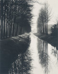 Photographs, Brett Weston (American, 1911-1993). Holland Canal, 1972. Gelatin silver. 9-1/2 x 7-1/2 inches (24.1 x 19.1 cm). Signed a...