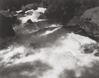 ANSEL ADAMS (American, 1902-1984) Rapids Below Vernal Falls, Yosemite Valley (from Portfolio 1</