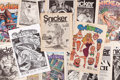 Modern Age (1980-Present):Alternative/Underground, Snicker Group of 16 (Balducci Publications, 1987-95) Condition:Average FN.... (Total: 16 Comic Books)