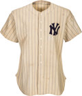Autographs:Baseballs, 1937 Lou Gehrig Game Worn New York Yankees Jersey -- Photo Matched!...