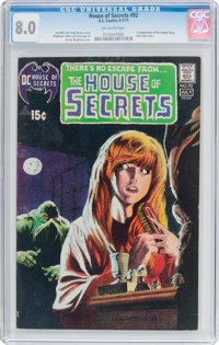 House of Secrets #92 (DC, 1971) CGC VF 8.0 Off-white pages