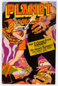 Golden Age (1938-1955):Science Fiction, Planet Comics #45 (Fiction House, 1946) Condition: Apparent FN+....