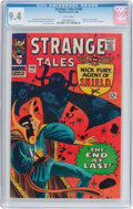 Silver Age (1956-1969):Science Fiction, Strange Tales #146 (Marvel, 1966) CGC NM 9.4 White pages....