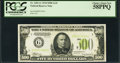 Small Size:Federal Reserve Notes, Fr. 2201-G $500 1934 Light Green Seal Federal Reserve Note. PCGS Choice About New 58PPQ.. ...