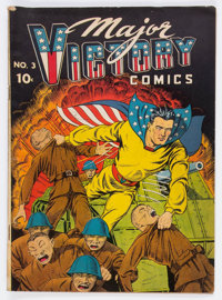 Major Victory Comics #3 (H. Clay Glover Company, 1945) Condition: VG+