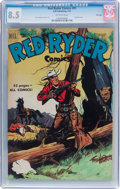 Golden Age (1938-1955):Western, Red Ryder Comics #91 File Copy (Dell, 1951) CGC VF+ 8.5 Off-white pages....