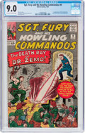 Silver Age (1956-1969):War, Sgt. Fury and His Howling Commandos #8 (Marvel, 1964) CGC VF/NM 9.0 Off-white to white pages....