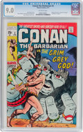 Bronze Age (1970-1979):Adventure, Conan the Barbarian #3 (Marvel, 1971) CGC VF/NM 9.0 Off-white pages....