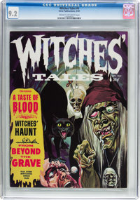 Witches Tales #8 (Eerie Publications, 1969) CGC NM- 9.2 Cream to off-white pages