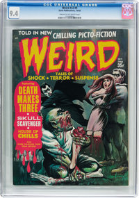 Weird V2#9 (Eerie Publications, 1968) CGC NM 9.4 Cream to off-white pages