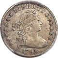 Early Dimes, 1798 10C Small 8, JR-3, High R.5 -- Cleaned -- PCGS Genuine. VFDetails....