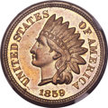 Proof Indian Cents, 1859 1C PR66 NGC....
