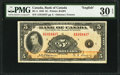Canadian Currency: , BC-5 $5 1935.. ...