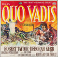 "Movie Posters:Historical Drama, Quo Vadis (MGM, 1951). Six Sheet (78"" X 79""). Historical Drama....."
