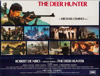 "The Deer Hunter (EMI, 1979). British Poster (79.5"" X 60.25""). Academy Award Winners"
