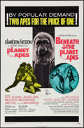 "Movie Posters:Science Fiction, Planet of the Apes/Beneath the Planet of the Apes Combo & OtherLot (20th Century Fox, 1971). One Sheet (27"" X 41"") & Austra...(Total: 2 Items)"