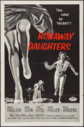 "Movie Posters:Bad Girl, Runaway Daughters (American International, 1956). One Sheet (27"" X41""). Bad Girl.. ..."