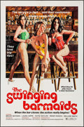 "Movie Posters:Sexploitation, The Swinging Barmaids & Others Lot (Premiere Releasing, 1975).One Sheets (2) (27"" X 41"") & Lobby Card (11"" X !4"").Sexploit... (Total: 3 Items)"