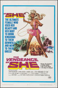 "Movie Posters:Fantasy, The Vengeance of She (20th Century Fox, 1968). One Sheet (27"" X41""). Fantasy.. ..."