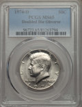 Kennedy Half Dollars, 1974-D 50C Doubled Die Obverse MS65 PCGS. PCGS Population: (90/8)....