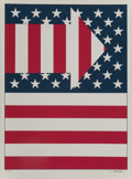 Prints:Contemporary, Paul von Ringelheim (1933-2003). American Flag III, 1979.Screenprint in colors. 31 x 23 inches (78.74 x 58.42 cm) (imag...