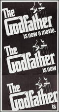 "Movie Posters:Crime, The Godfather (Paramount, 1972). Three Sheet (41"" X 79""). Crime.. ..."