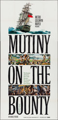 "Movie Posters:Adventure, Mutiny on the Bounty (MGM, 1962). Three Sheet (41"" X 84""). Style A.Adventure.. ..."