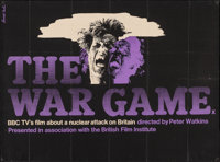 "The War Game (BBC/British Film Institute, 1965). British Quad (30"" X 40""). Documentary"