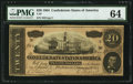 Confederate Notes:1864 Issues, T67 $20 1864 PF-6 Cr. 507.. ...