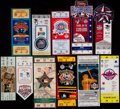 Baseball Collectibles:Tickets, 1986-96 Major League Baseball All-Star Game Full Tickets Lot of11....