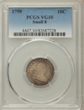 Early Dimes: , 1798 10C Small 8 VG10 PCGS. PCGS Population: (5/16). ...