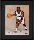 "Basketball Collectibles:Photos, 2000's Michael Jordan Signed ""UDA"" Photograph. ..."