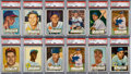 Baseball Cards:Lots, 1952 Topps Baseball Shoe Box Collection (500+) With 12 HighNumbers. ...