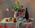 Paintings, Henri Ottmann (French, 1877-1927). Nature Morte, 1920. Oil on canvas. 25-1/2 x 32 inches (64.8 x 81.3 cm). Signed and da...