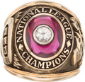 Baseball Collectibles:Others, 1961 Cincinnati Reds National League Champions Salesman's Sample Ring....