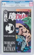 Modern Age (1980-Present):Superhero, Batman #497 (DC, 1993) CGC NM/MT 9.8 White pages....