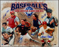 Baseball Collectibles:Photos, 2000's Baseball's Greatest Catchers Multi-Signed Oversized...