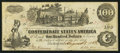 Confederate Notes:1862 Issues, T39 $100 1862 PF-13 Cr. 296 State III Plate.. ...