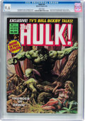 Magazines:Superhero, Hulk #10 (Marvel, 1978) CGC NM+ 9.6 White pages....