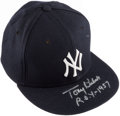 "Autographs:Others, Tony Kubek New York Yankees Signed Hat with ""ROY 1957"" Inscription. ..."