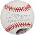 "Autographs:Baseballs, 1990's Joe DiMaggio Single Signed Baseball With ""Yankee Clipper""Inscription. ..."
