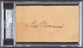 Autographs:Index Cards, 1939 Ted Williams Signed Government Postcard, PSA/DNA Authentic. ...