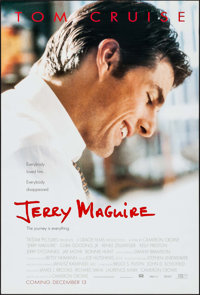 """Jerry Maguire (Tri-Star, 1996). One Sheets (2) (27"""" X 40"""") DS. Drama. ... (Total: 2 Items)"""
