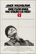 "Movie Posters:Academy Award Winners, One Flew Over the Cuckoo's Nest (United Artists, 1975). One Sheet (27"" X 41""). Academy Award Winners.. ..."