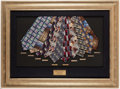"Basketball Collectibles:Others, 1998 Jim Valvano ""Jimmy V Neckwear"" Collection Display...."