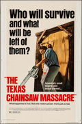 "Movie Posters:Horror, The Texas Chainsaw Massacre (Bryanston, R-1980). One Sheet (27"" X 41""). Horror.. ..."