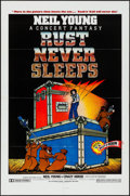 "Movie Posters:Rock and Roll, Rust Never Sleeps (A.M. Films, 1979). One Sheet (27"" X 41""). Rock and Roll.. ..."