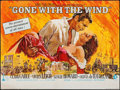 """Movie Posters:Academy Award Winners, Gone with the Wind (MGM, R-1968). British Quad (30"""" X 40""""). Academy Award Winners.. ..."""
